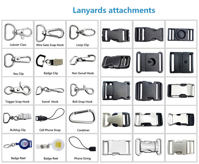 Accessories for Lanyards