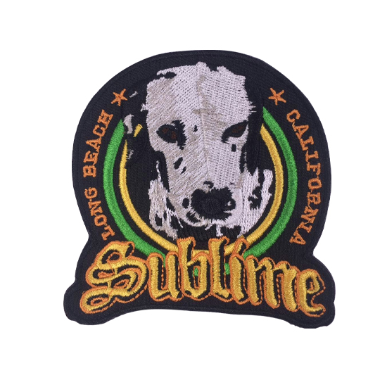 Dog embroidery patches