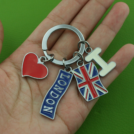 Custom made Travel Souvenir keychains_China factory to make metal
