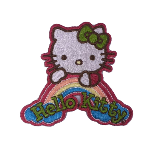 Hello Kitty Embroidery patches