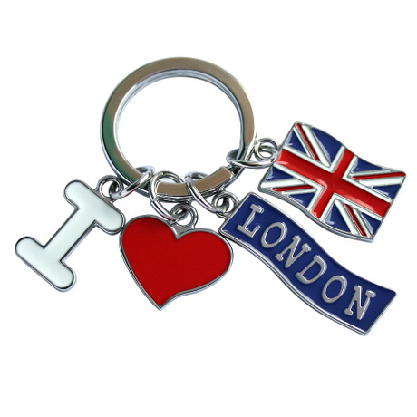 Custom made Travel Souvenir keychains
