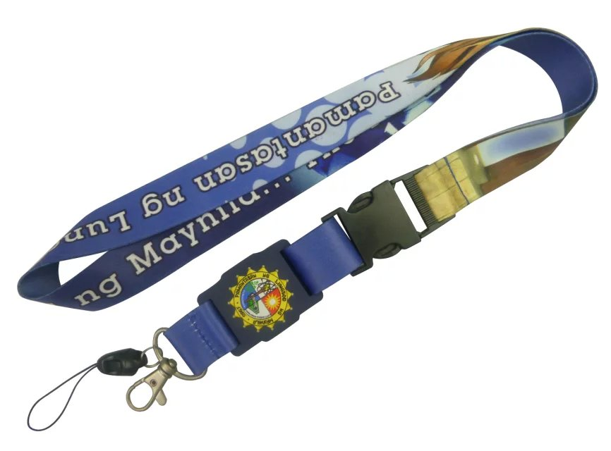 Customized Sublimation lanyards